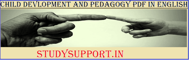 child Devlopment and pedagogy Pdf in English