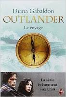 Couverture Outlander T3 Le Voyage