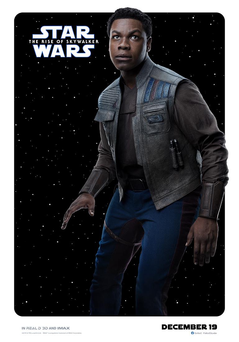 Star Wars: The Rise of Skywalker finn poster