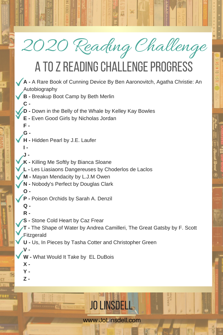 The A to Z Reading Challenge