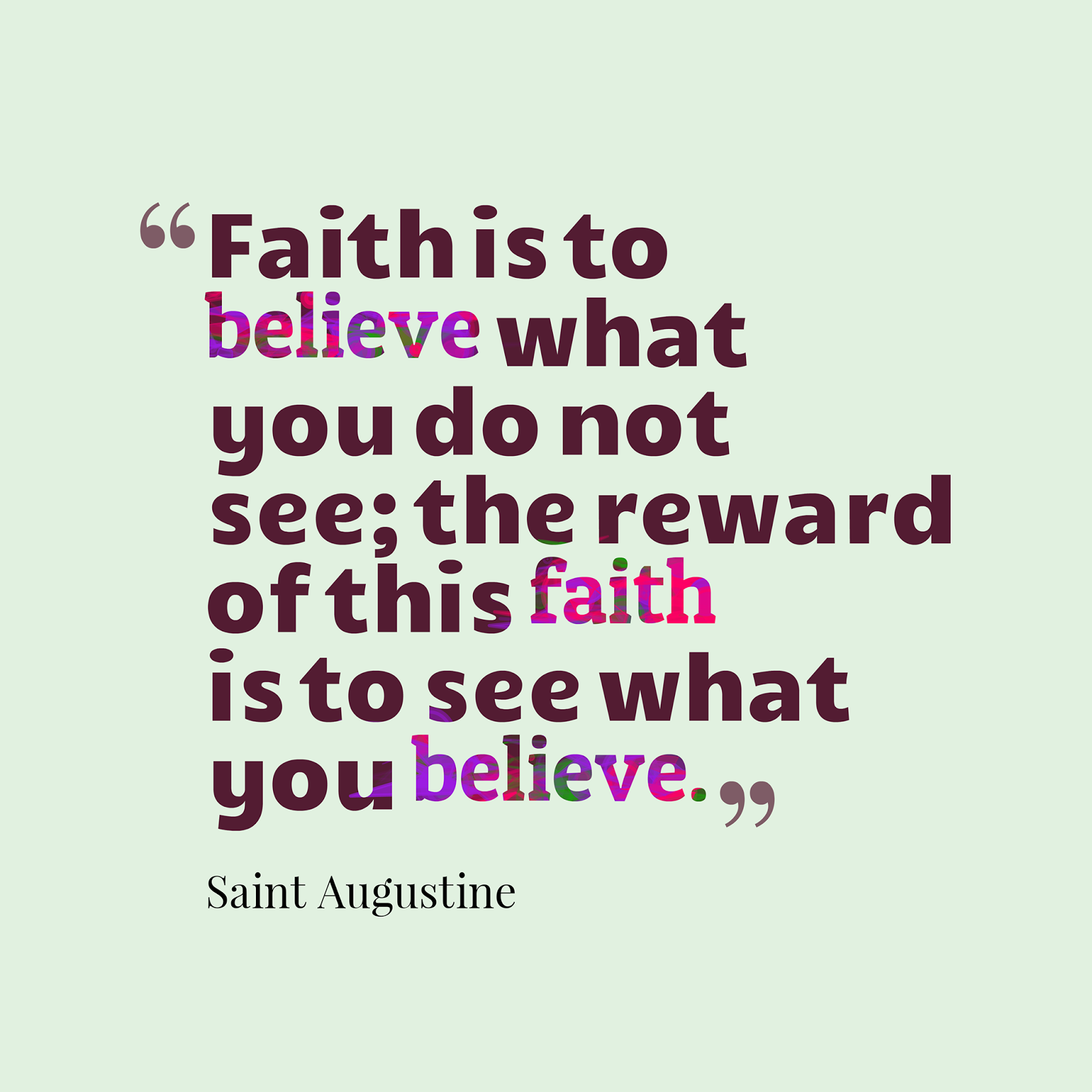 Faith And Belief Quotes: PORRIDGE FOR THE SOUL: I BELIEVE, HELP MY UNBELIEF