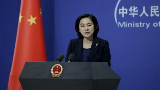 """China rechaza sanciones de EEUU a Zarif: """"Es echar leña al fuego"""""""