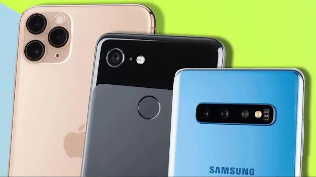 افضل خمس هواتف لعام 2020