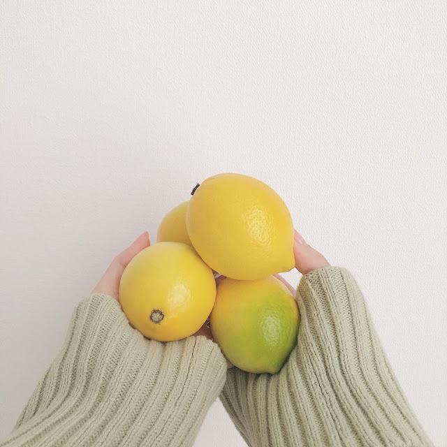 Masker lemon untuk wajah