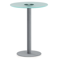 OFM Glass Top Accent Table