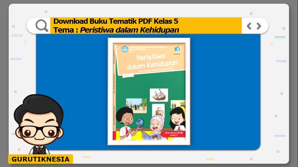 download gratis buku tematik pdf kelas 5 tema peristiwa dalam kehidupan