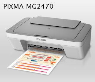Canon PIXMA MG2470 Download for Windows, Mac and Linux