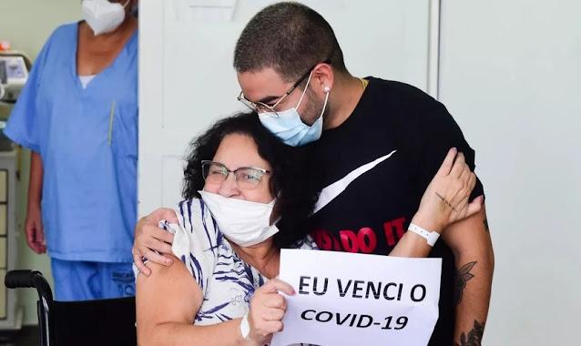 """Mãe de Yudi se impactou com orações na janela de hospital: """"Ouvia os aparelhos e o clamor"""""""