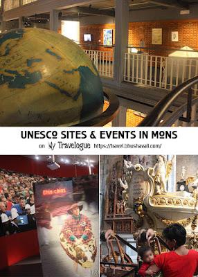 UNESCO Sites Events Mons Belgium