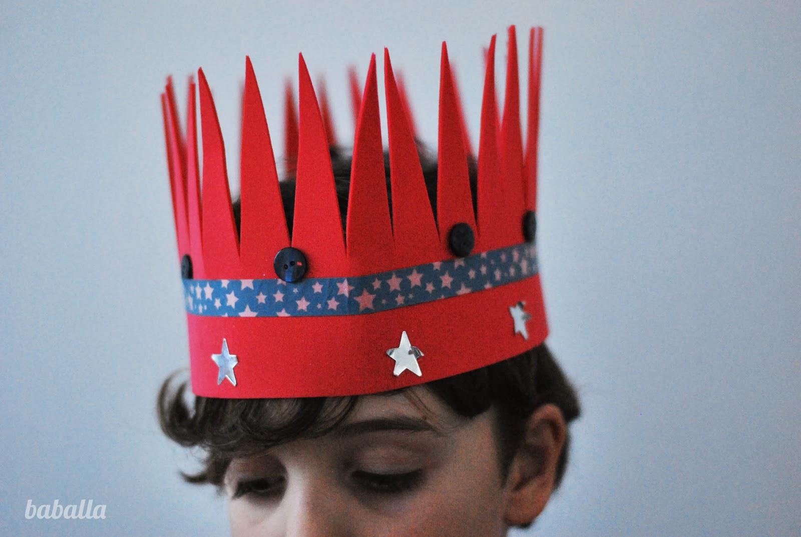 manualidades con niños: coranas para reinas y reyes - Baballa un ...