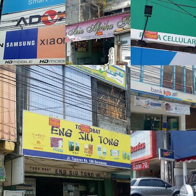 Ratusan Reklame di Karawang Belum Bayar Pajak
