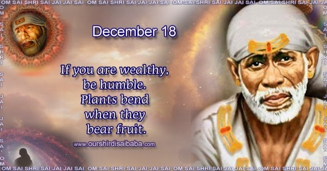 My Sai Blessings - Daily Blessing Messages-Shirdi Sai Baba Today Message 18-12-19