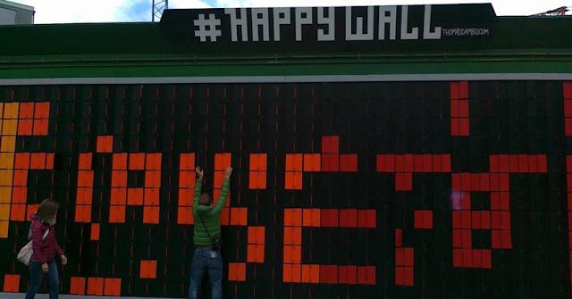 Happy wall Copenhagen