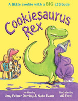 cookiesaurus rex by amy fullner dominy and nate evans book cover