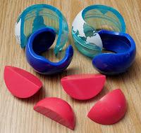 Globe Ball Pieces