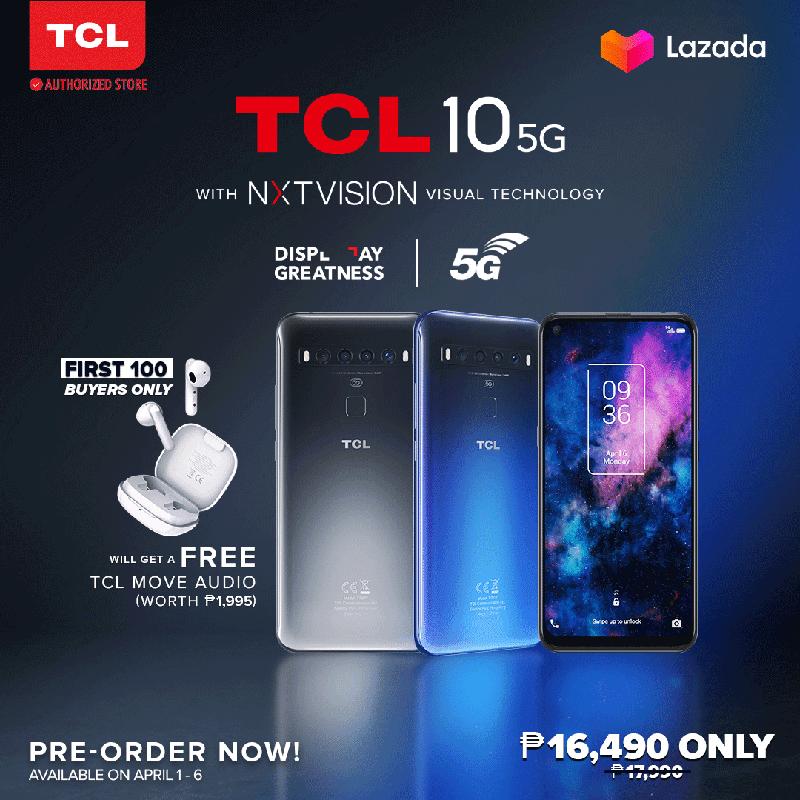 TCL 10 5G price PH