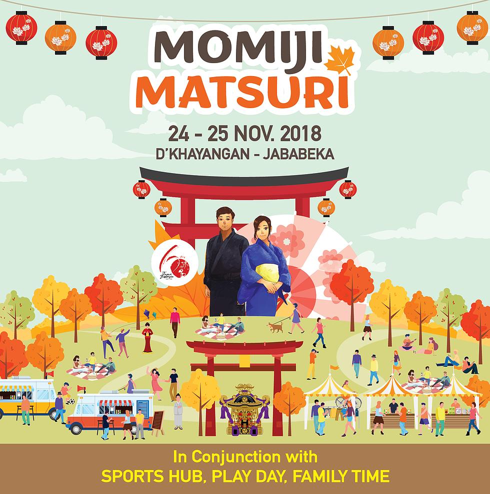 Momiji Matsuri 2018 | D'Khayangan, Jababeka, Cikarang