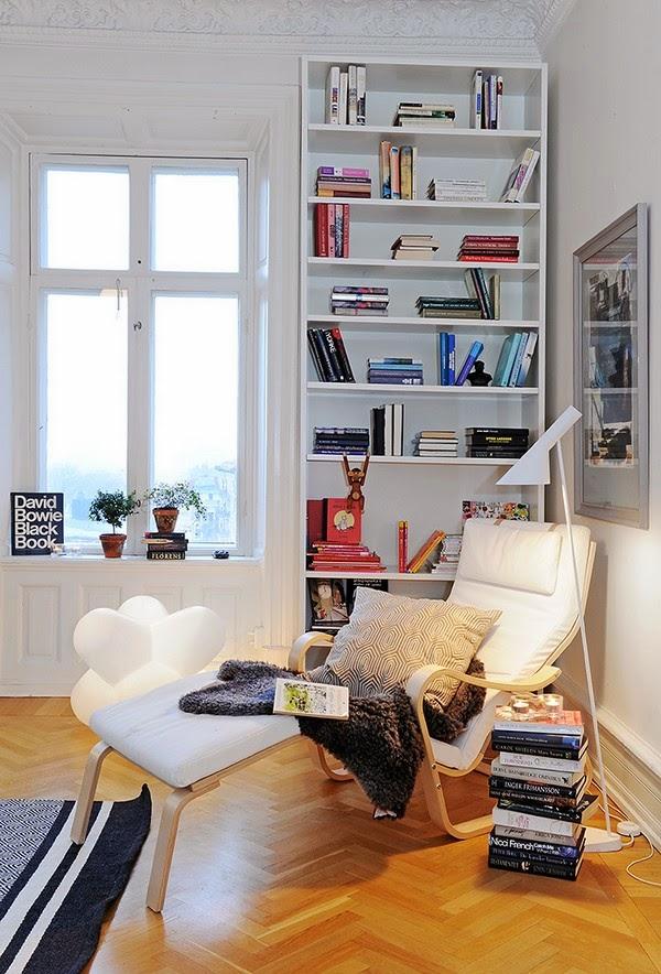 crear rincón de lectura