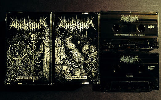 FUNERALIUM - Of Throes and Blight - Out Now On Double Tape