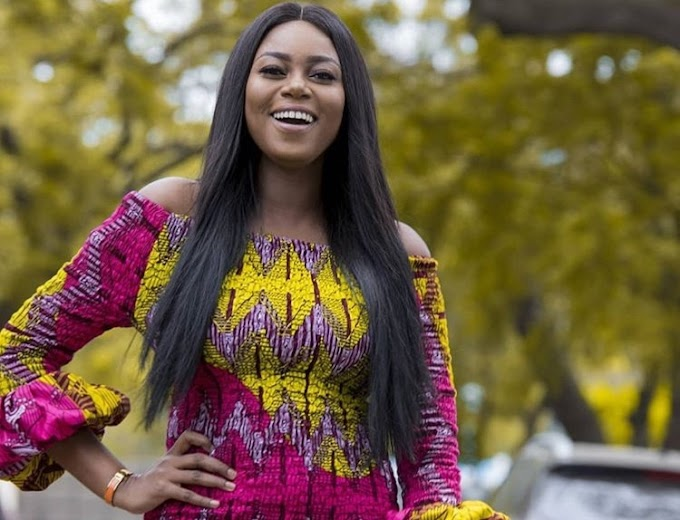 Young ladies take it easy, don't let the pressure get to you - Yvonne Nelson advises