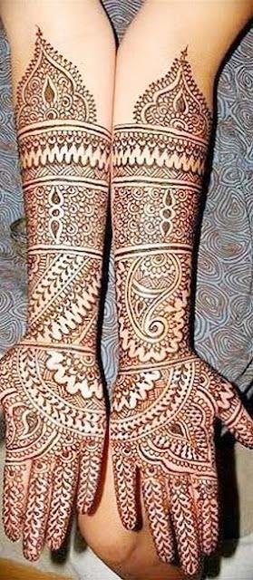 Marwari Henna Designs For Hands