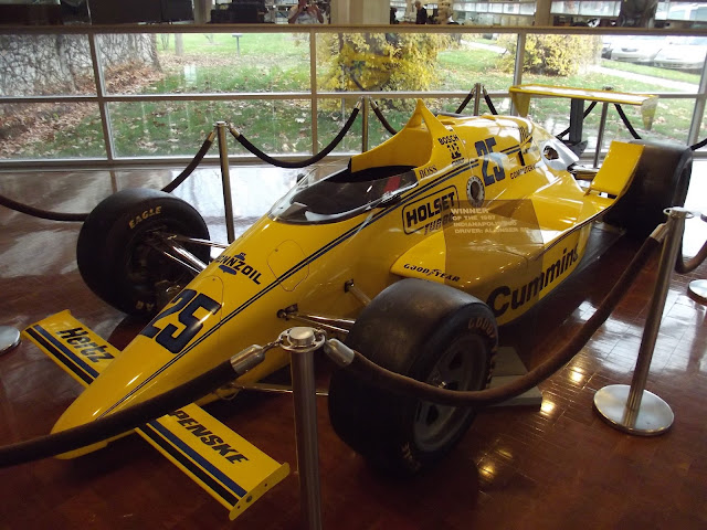 Indy 500 Car - Cummins Corporate Museum