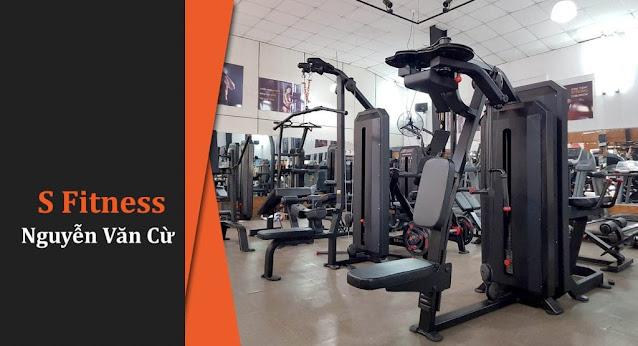 hệ thống phòng tập Gym S Fitness đã có mặt tại quận 5