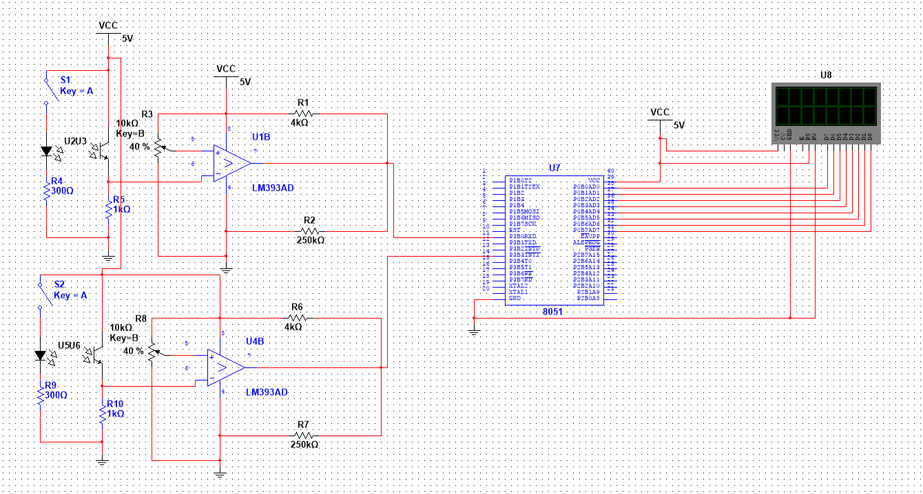 microcontroller based bidirectional visitor counter 8051 microcontroller based bidirectional visitor counter project using ir sensors it can count both upwards and downwardsit include circuit and code in c the count value is calculated depending upon the sensors' input and is displayed on a set of four seven segment displays by using the concept.