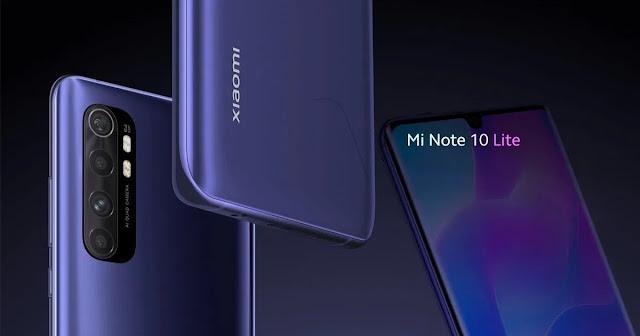 4. Smartphone Xiaomi Mi Note 10