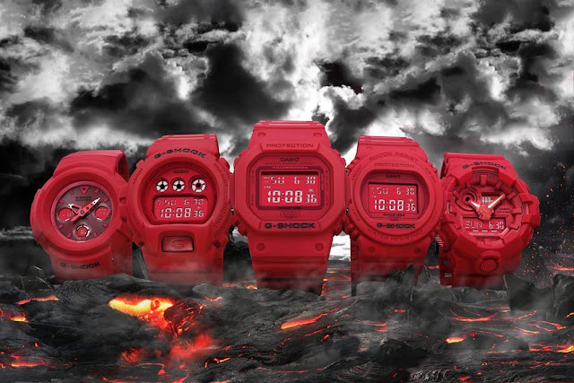 Edisi Khas 'Red Out' dari G-Shock Yang Mengancam