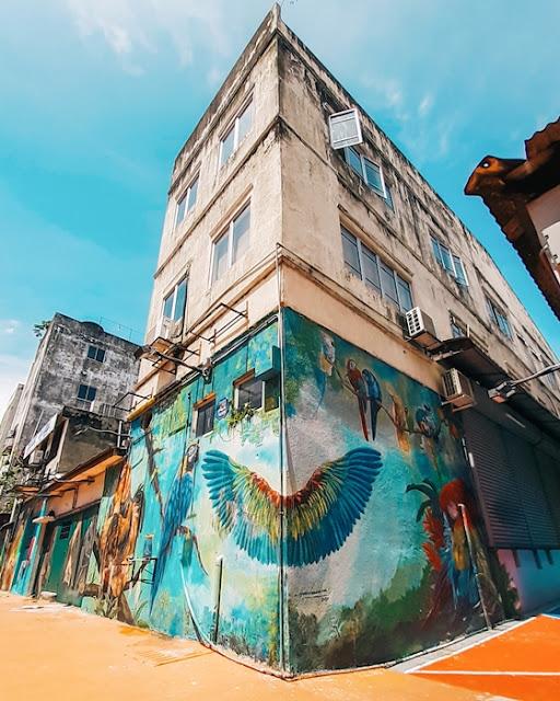 Selangor Top 6 Mural Street Arts, Cuti Cuti Malaysia, Selangor Murals, Selangor Street Arts, Tourism Selangor, Selangor Travel, Travel