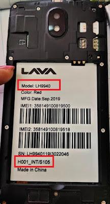 Lava Iris 43 LH9940 Flash File