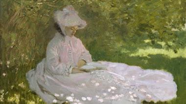 Springtime de Monet