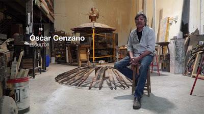 """190 Land Art Bodegas Aroa Oscar Cenzano Navarra -  Land  Art  Oscar Cenzano, es otro artista riojano, seleccionado por Bodegas Aroa, para participar en el certamen """"Arte en la Viña"""", celebrado en el pueblo de Zurucuain, en Navarra.  Oscar tiene una dilatada carrera artística y desde hace muchos años, su trabajo ha estado relacionado con las viñas y el vino. -  www.casaruralurbasa.com"""