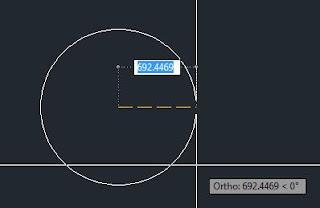 Membuat Lingkaran di Autocad