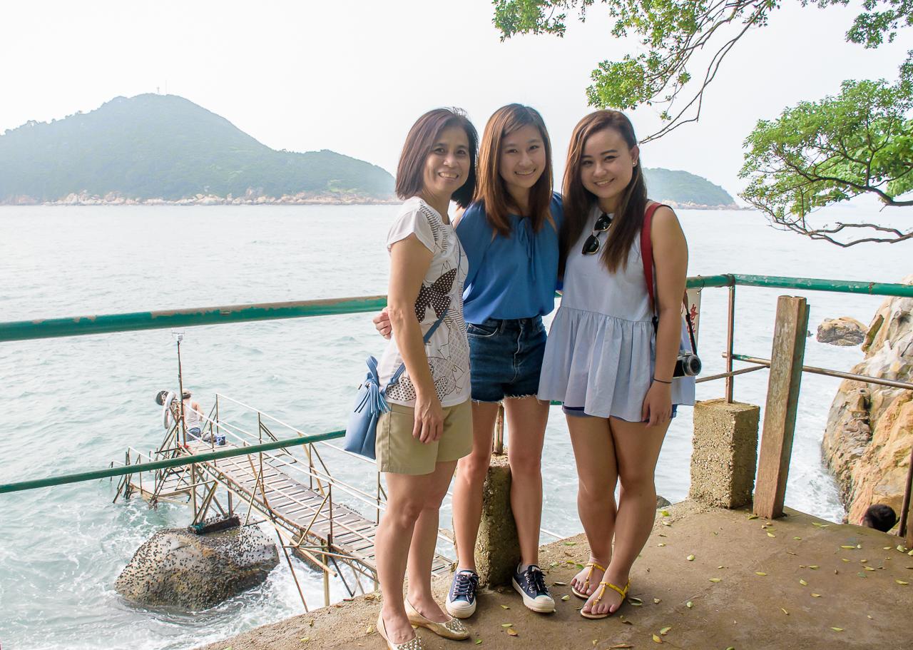 swimming shed abandoned at hong kong mount davis sai wan