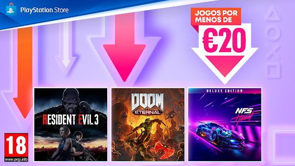 """Campanha """"Jogos por menos de 20€"""" já disponível na PlayStation®Store"""