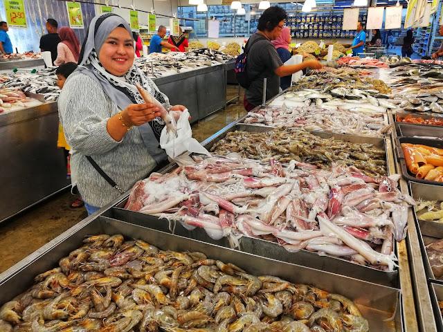 Murah-murah barangan dapur segar dekat Segi Fresh Market Subang!