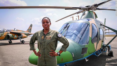 image result for tolulope arotile nigeria's first female combat pilot death