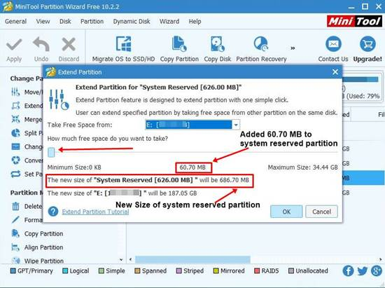 How to Extend a System Reserved Partition on Windows 7/8/10