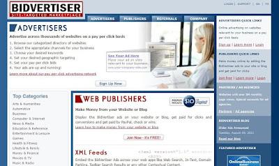 Best Google Adsense Alternatives Bidvertiser