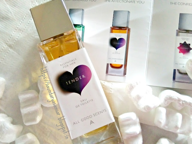 Tender EDT by All Good Scents. Review