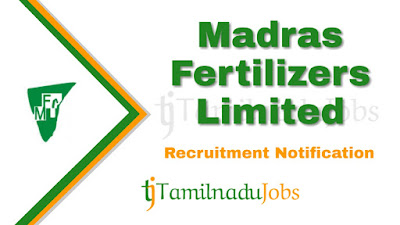 MFL Recruitment notification 2019, govt jobs in tamilnadu, govt jobs in india, central govt jobs, govt jobs for graduate, govt jobs for diploma