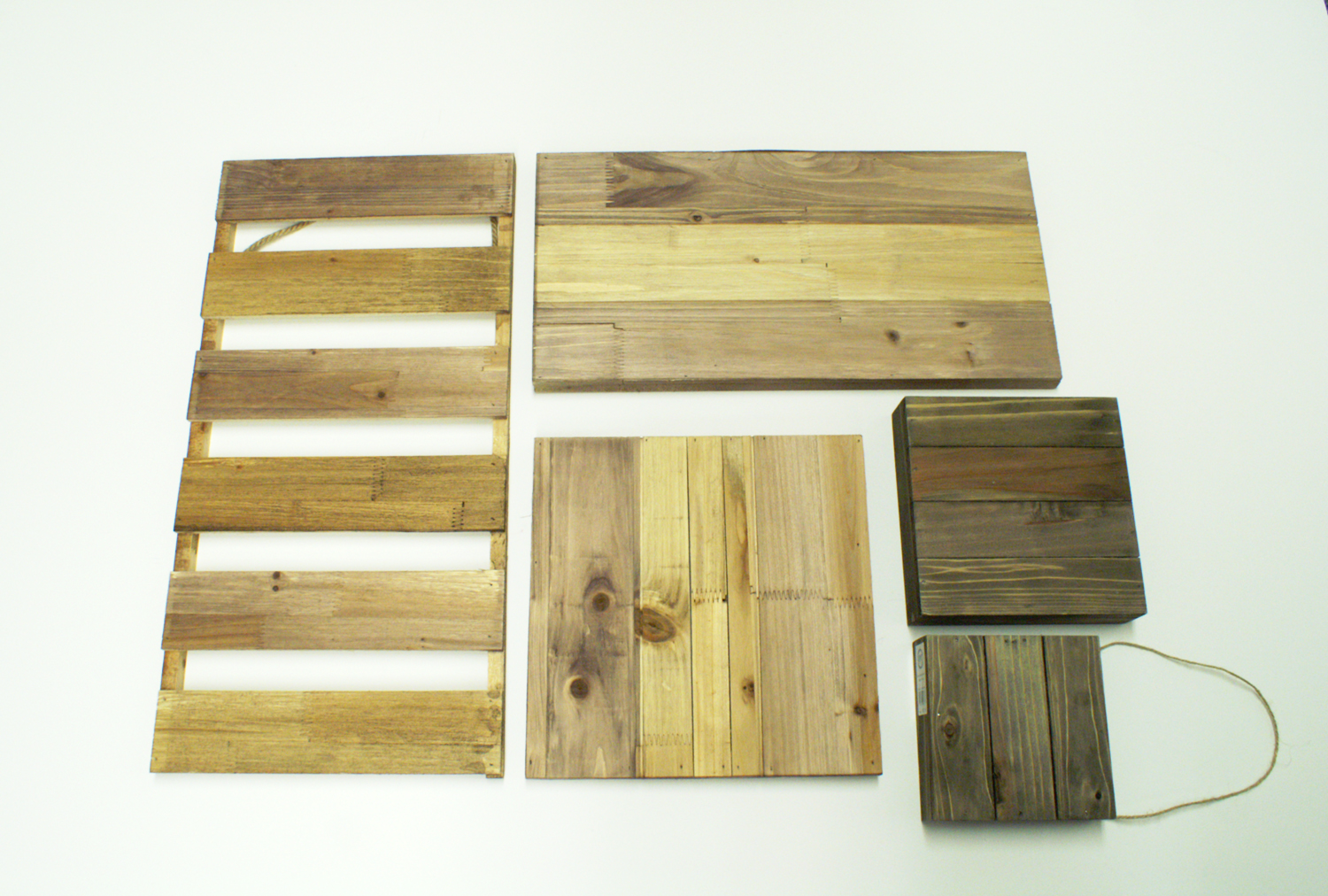Ben Franklin Crafts and Frame Shop: Pallet Wall Art Ideas