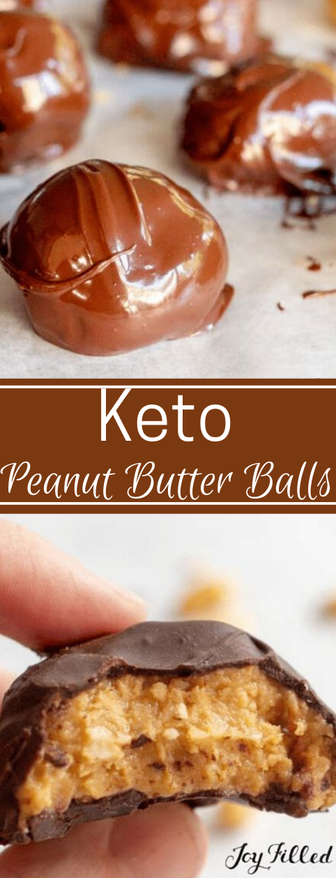 HEALTHY PEANUT BUTTER BALLS EASY KETO LOW CARB #healthydiet #keto #lowcarb #easy #peanut