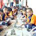 गुरुदेव शाळेतील मुलांनी बनविले इकोफ्रेंडली गणपती