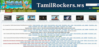 Tamilrockers.ws- Latest Bollywood Hollywood Tamil Movies Download