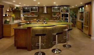 Bar Tarzı Mutfak Modelleri
