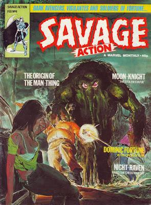 Savage Action #4, Man-Thing