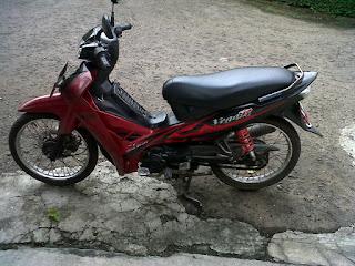 Gambar Vega R Marun Tahun 2008